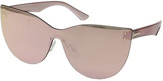 Von Zipper VonZipper Alt-Queenie (Rose Gold/Rose Gold Chrome) Athletic Performance Sport Sunglasses