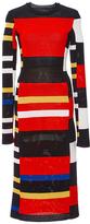 Proenza Schouler Long Sleeve Knit Dress