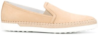 Tod's Suede Leather Loafers