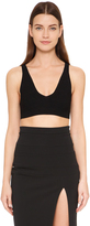 Cushnie et Ochs Knit Crop Top