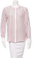 Frame Stripe Button-Up Top w/ Tags