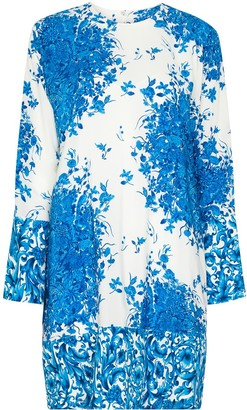 Valentino Ceramic-Print Shift Dress