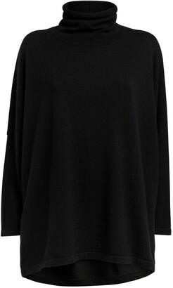 eskandar Cashmere-Silk Rollneck Sweater