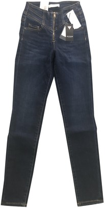 GUESS Blue Cotton - elasthane Jeans for Women