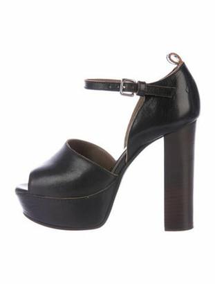 Marni Leather Sandals Black