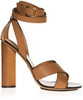 Gucci Candy Cross Strap High Heel Sandals