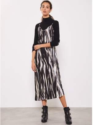 Mint Velvet Agnes Print Slip Dress - Multi