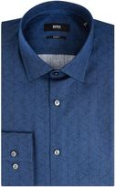 HUGO BOSS Men's Jenno Slim Fit Geo Print Shirt