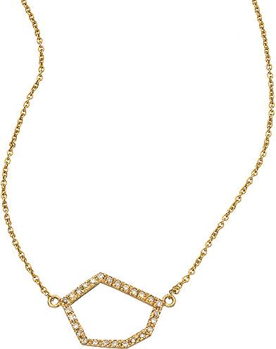 Janna Conner Fine Jewelry Cubist Cutout Necklace