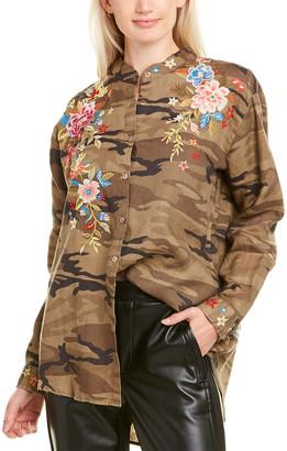 Johnny Was Amara Linen Shirt