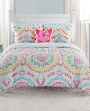 Sanders Beautifly Twin 5 Piece Comforter Set Bedding