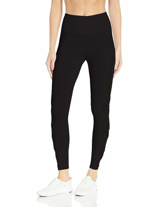 Betsey Johnson Women's Banded Criss Cross High Rise 7/8 Legging