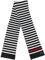 Saint Laurent striped knitted scarf - men - Wool - One Size