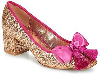 Miss L Fire Miss L'Fire SABRINA women's Heels in Gold