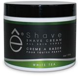 eShave White Tea Shave Cream for All Skin Types