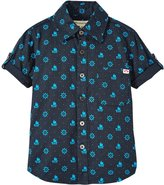 Appaman Pattern Shirt (Toddler/Kid) - Total Eclipse - 3T