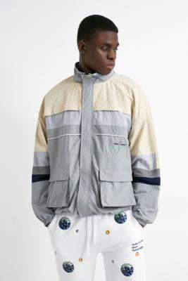 Urban Outfitters Nolan Apparel Sewing Club Jacket - grey L at