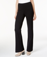 Eileen Fisher Straight-Leg Pull-On Ponte Pants, Regular & Petite