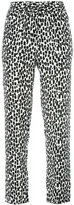 Equipment geometric print slim-fit trousers - women - Silk - S