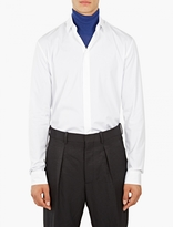 Haider Ackermann White Cotton Shirt