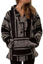 CLEVERBRAND INC. Classic Mexican Baja Pullover Hoodie, Unisex ( XXL)