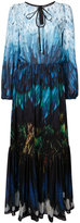 Romance Was Born tail feather chiffon gown - women - Polyester - 8