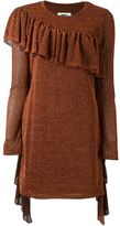MM6 MAISON MARGIELA ruffle trim dress