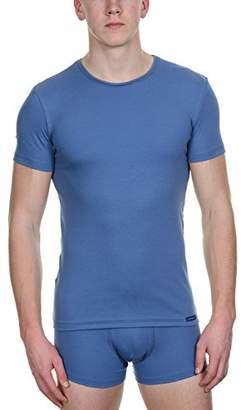 Bruno Banani Men's 2204-1499 Short Sleeve Vest - Blue