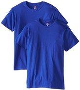 Hanes Men's Nano Premium Cotton T-Shirt (Pack of 2)