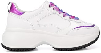 Hogan Gradient-Lace Platform Sneakers