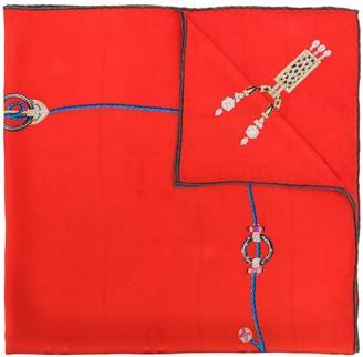 Cartier printed foulard