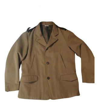 Hermes Khaki Cotton Jackets
