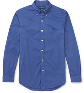 Polo Ralph Lauren Slim-Fit Button-Down Collar Washed-Cotton Shirt