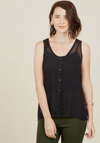 ModCloth Take the Breezy Way Out Sleeveless Top in M