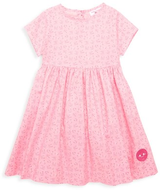 Smiling Button Little Girl's & Girl's XOXO Dress
