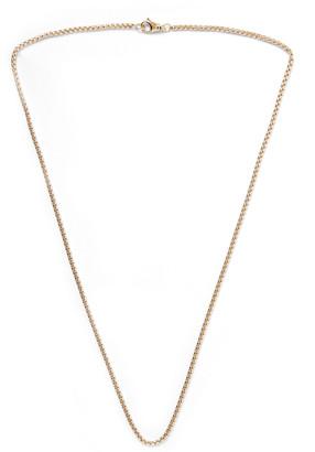 David Yurman 18-Karat Gold Chain Necklace