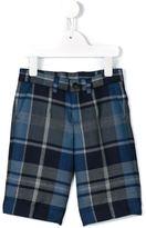Dolce & Gabbana tartan shorts