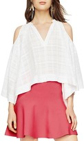 BCBGMAXAZRIA Elin Cold-Shoulder Bell-Sleeve Top