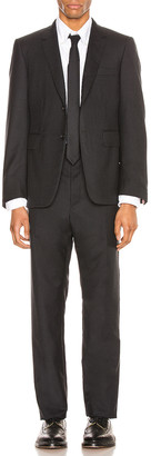Thom Browne Classic Wool Suit in Charcoal | FWRD