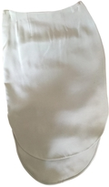 Chloé Green Silk Skirt