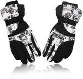 YUEDGE Men's And Women's Windproof Snowproof Ski Snowboard Motorcycle Gloves Winter Snow Warm Gloves( M )