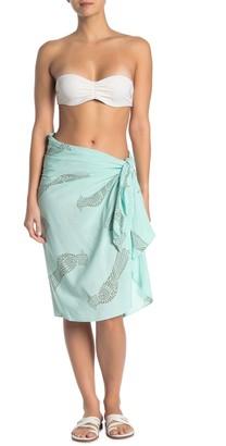 Vix Passaro Amanda Printed Cover-Up Wrap Skirt