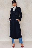 NA-KD Side Slit Coat