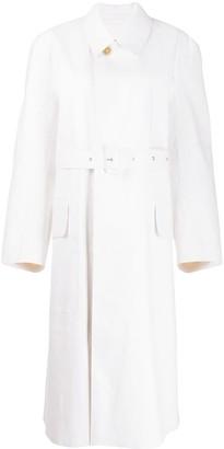 Maison Margiela x Mackintosh belted trench coat