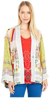 Johnny Was Esme Kimono (Multi B) Women's Clothing