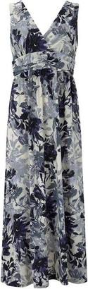 Nougat Rome Floral Maxi Dress