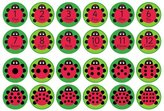 Kit for Kids Back to Nature Ladybird Playmats - 24 Pack