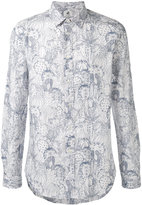 Paul Smith cactus print shirt - men - Cotton - S
