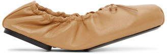 KHAITE Tan The Ashland Ballerina Flats