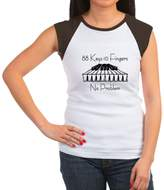 CafePress - Piano - Women's Cap Sleeve T-Shirt